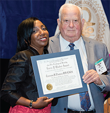 Giovana R. Thomas, MD and TRIO President Fred Owens, MD