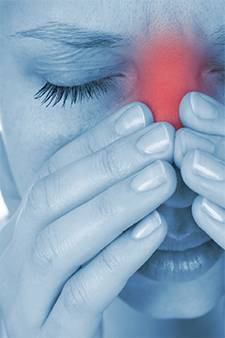 Approximately 25% of patients with olfactory  disturbances have CRS.