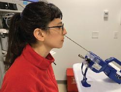 rigid laryngoscopy and speech
