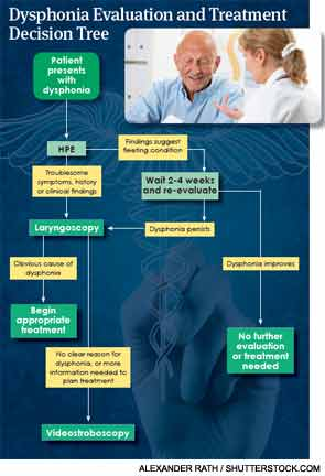 Dysphonia Evaluation and Treatment Decision Tree